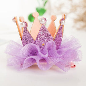 Crown Princess Hair Clip in 9 colors