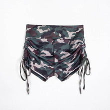 Load image into Gallery viewer, Yoga Compression Shorts in Black or Green Camo S-L