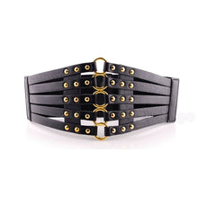 Load image into Gallery viewer, Vintage Steampunk Rivets Belt 2 Colors