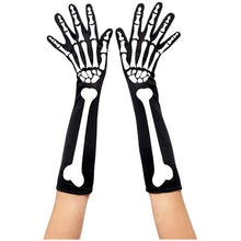 Load image into Gallery viewer, Scary Skeleton Costume Accessory Full Covered or Fingerless