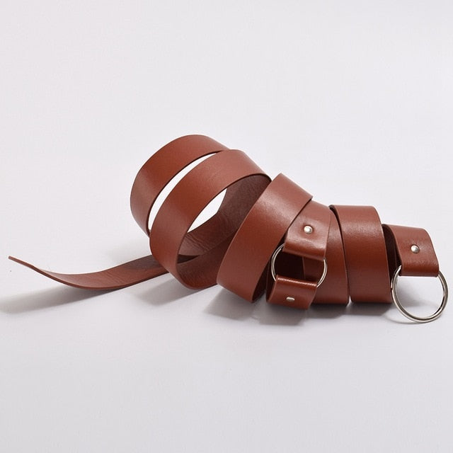 Medieval Waist Belt in Brown or Black