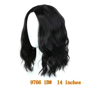 "14"" Medium Wavy or Tight Curls Synthetic Hair 5 styles/colors"