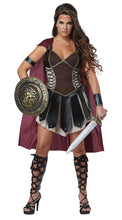 Load image into Gallery viewer, Gladiator Warrior Princess Costume & Cape