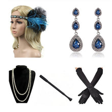 Load image into Gallery viewer, 1920 Women's vintage GATSBY  Flapper Costume Multiple Styles