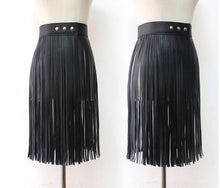 Load image into Gallery viewer, Fringe Skirt in 2 Colors S-L Choose Your Length
