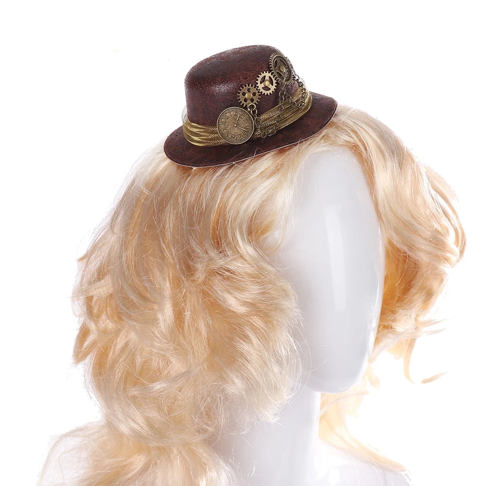 Hair Clip Decoration Mini Top Hat