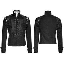 Load image into Gallery viewer, Warrior Men's Leather Jacket Black or Coffee S-4XL