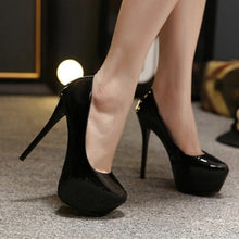 Load image into Gallery viewer, 6 Colors Waterproof Platform Super High Stilleto Pumps