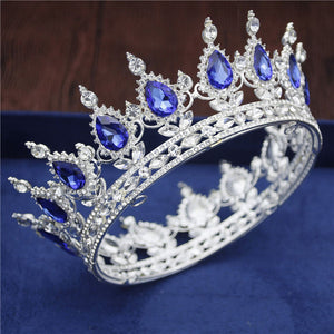 Crystal Vintage Circle Crown Men and Women 17 Styles