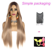 Load image into Gallery viewer, Long Straight Ombre Wig in 8 Colors. 30""
