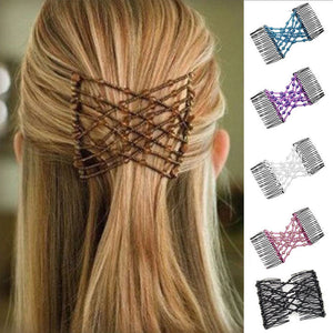 Magic Elastic Vintage Hair Comb in 7 Colors