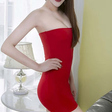 Load image into Gallery viewer, Elastic Seamless Strapless Tube Mini Skirts in 10 Colors