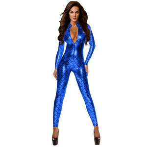 Scaled Body-suits in 4 Colors S-XL