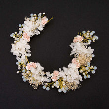 Load image into Gallery viewer, FORSEVEN Boho Flower Crown