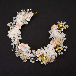 FORSEVEN Boho Flower Crown