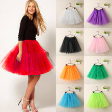 Load image into Gallery viewer, Layered Tulle Tutu in 10 Colors