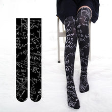Load image into Gallery viewer, Printed Thigh High in 2 Colors