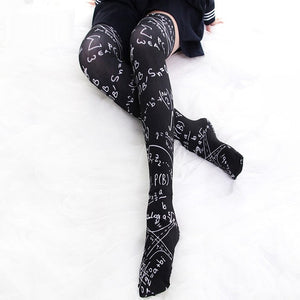 Printed Thigh High in 2 Colors