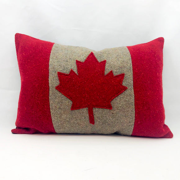 Recycled Wool Canada Pillow
