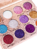 Professional 12 Colors Glittering Long Lasting Eyeshadow Palette