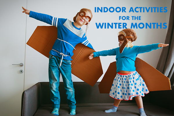 Indoor Activities to Keep Your Kids Moving