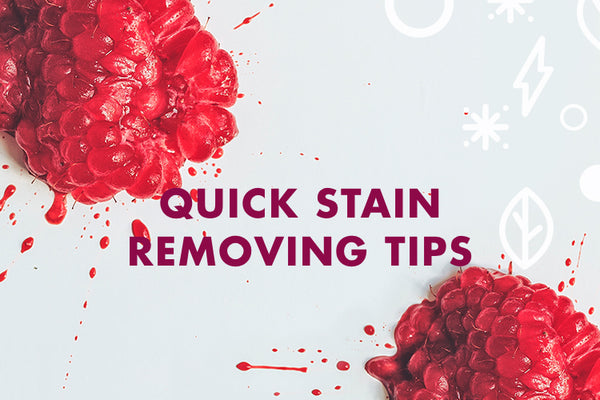 Natural Stain Removal Tips and Tricks