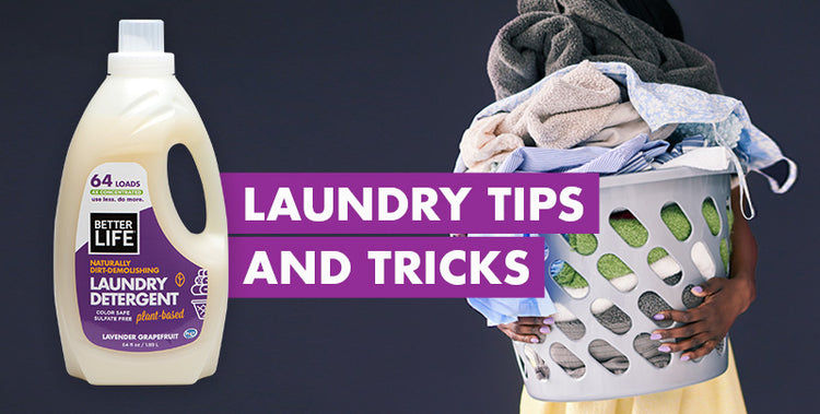 Tips and Tricks for Earth-Friendly Laundering