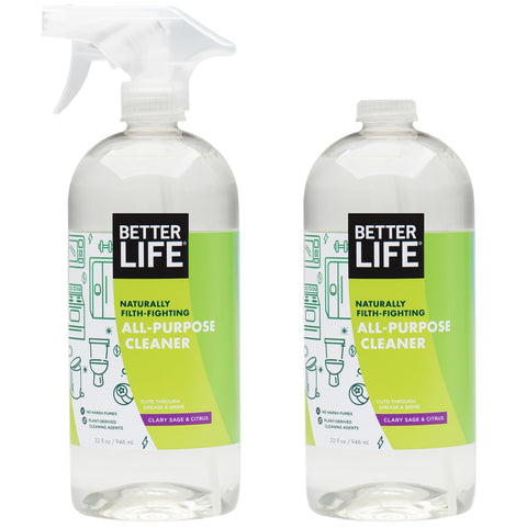 32oz - Clary Sage and Citrus All-Purpose Cleaner 2-Pack