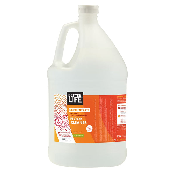 Natural Floor Cleaner Gallon Sized Better Life