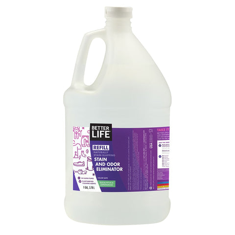 1 Gallon - Eucalyptus and Lemongrass Stain and Odor Eliminator