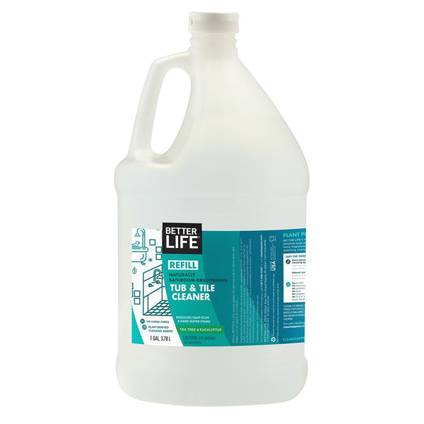 Natural Bathroom Cleaner Tub And Tile Cleaner Gallon