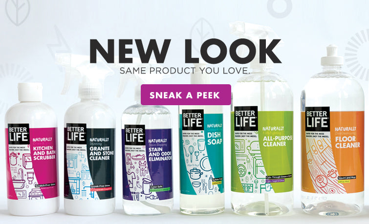 All Natural Cleaning Products Better Life Green Cleaning