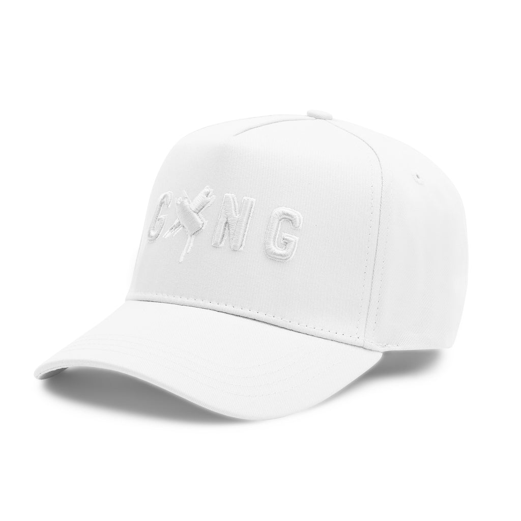 GXNG LOGO HAT GREY/BLACK - Gxng