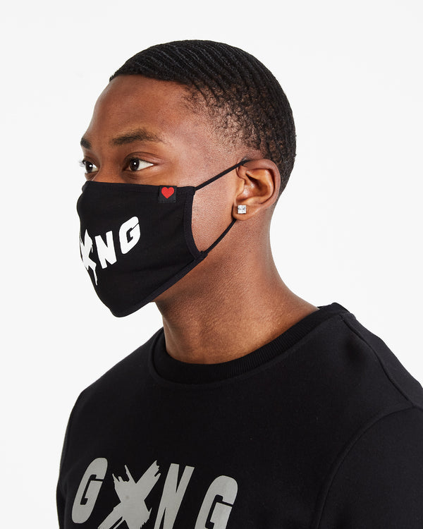 GXNG LOGO FACE MASK - Gxngclothing