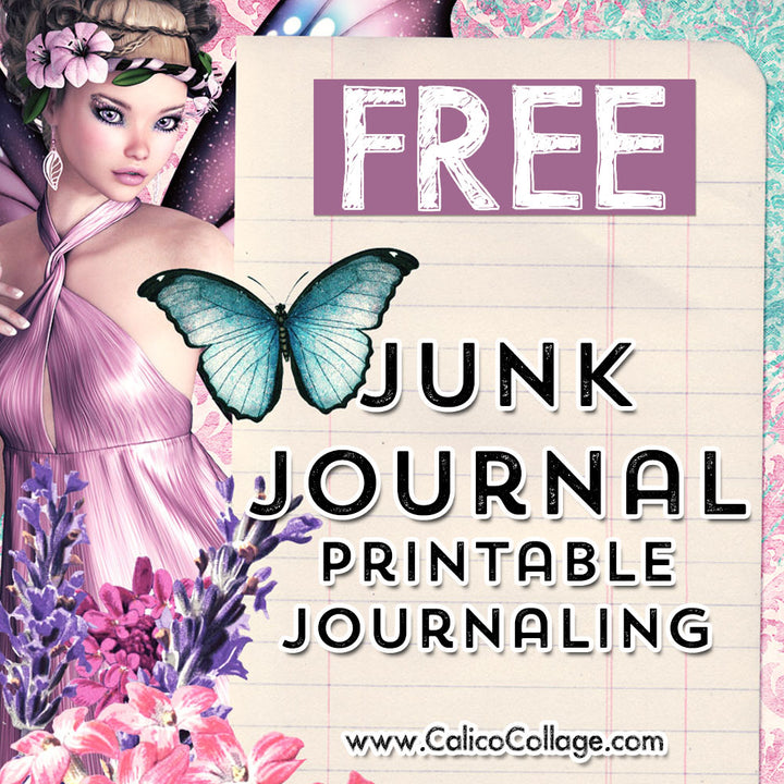 Free Springtime Fairies Journaling Cards