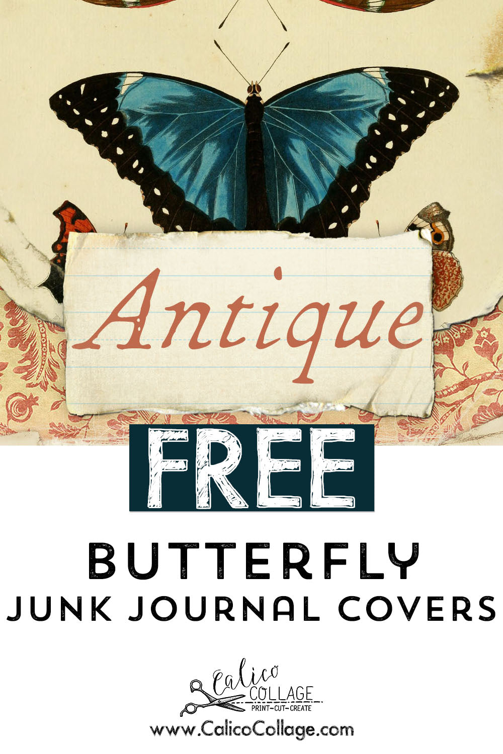 Free Junk Journal Cover Printable