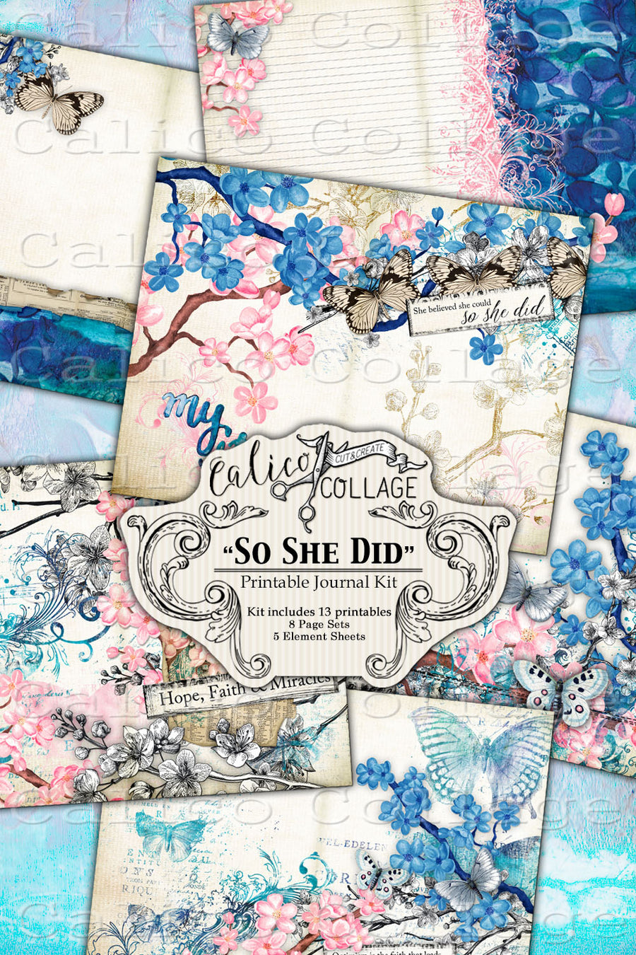 So She Did Junk Journal Kit