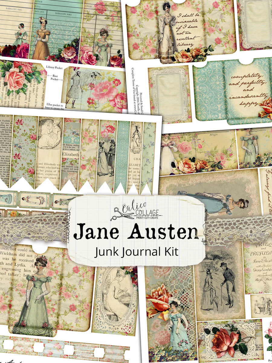Jane Austen Junk Journal Kit