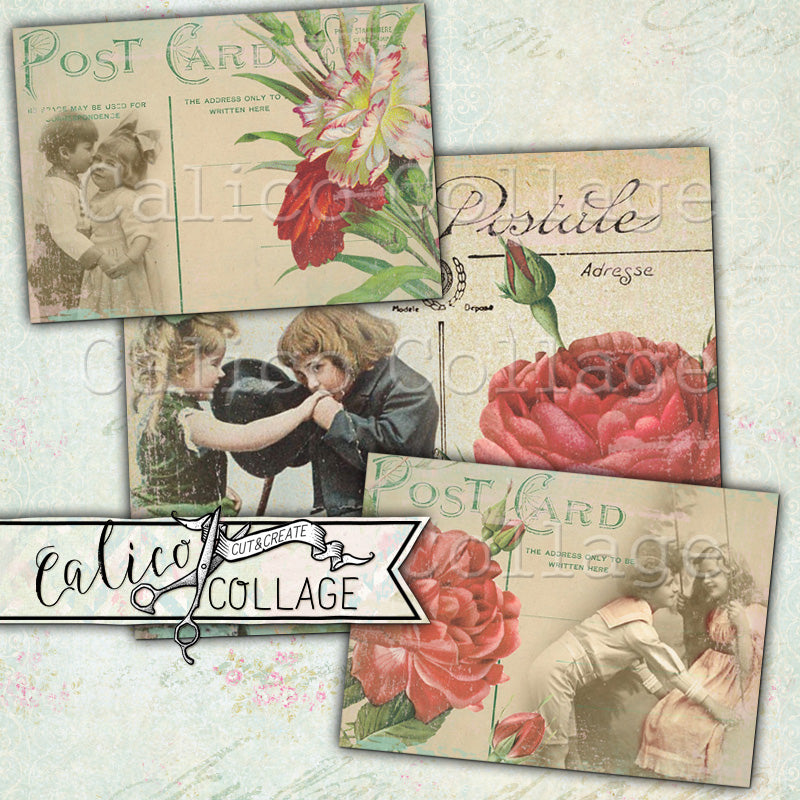 Young Love Printable Journaling Cards