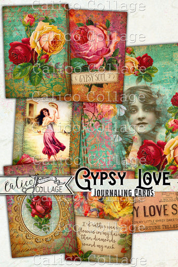 Gypsy Love Journaling Cards