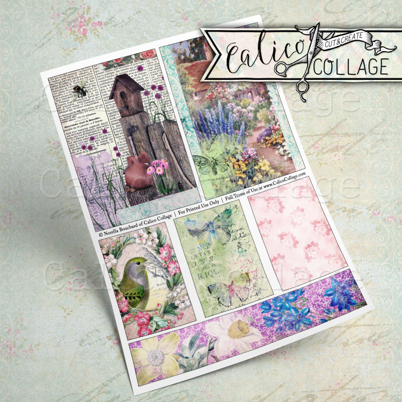 Day Dreaming Journaling Cards and Tags