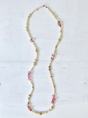 Rock Candy Fushia Necklace