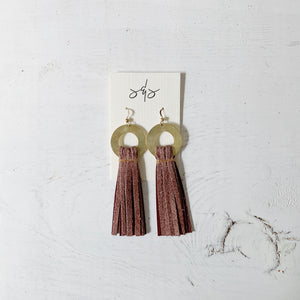 Berry Blush Tassel Drop