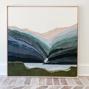 Living Water (Linville Gorge Wilderness) Commissioned Piece