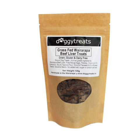 Grass Fed Wairarapa Beef Liver Treats - June Expiry Sale