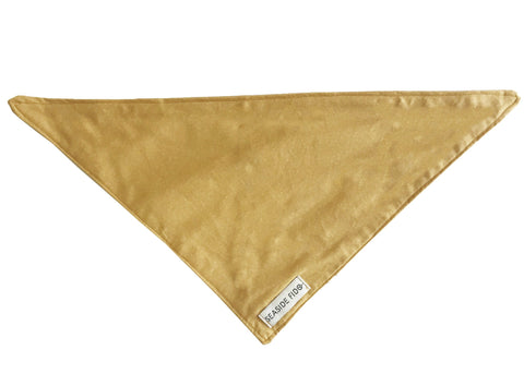 Seaside Fido Organic Dog Bandana Mustard