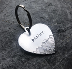 Custom made, personalized dog tag