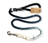 Ombre Dog Leash Navy