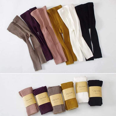 Cable Knit Footless tights