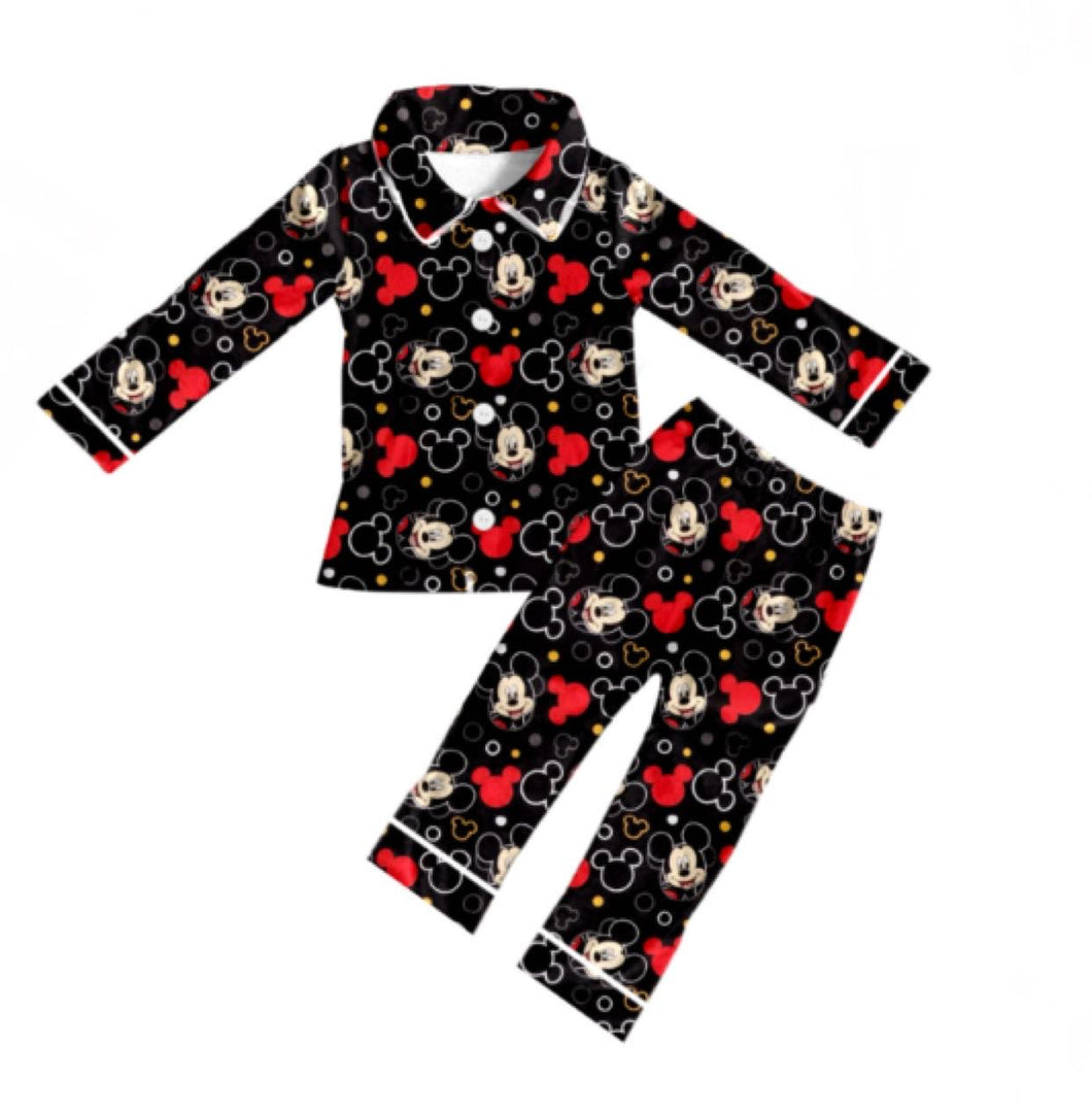 Mickey Mouse Long Sleeve Pajama Set
